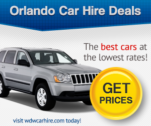 Walt Disney World Car Hire Deals