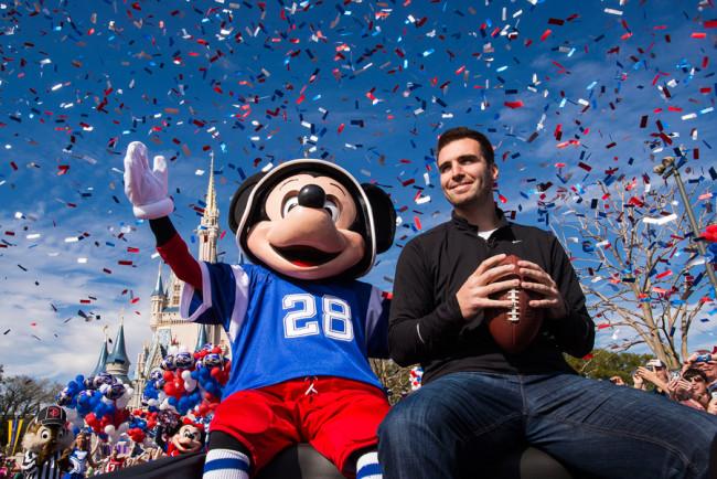 Super Bowl 2013 at Magic Kingdom