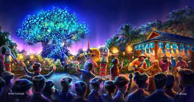 New nighttime entertainment at Disney's Animal Kingdom