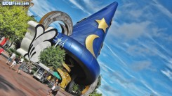 Hollywood Studios Sorcerers Hat Wallpaper