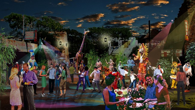 Harambe Nights and Harambe Theater at Disney's Animal Kingdom