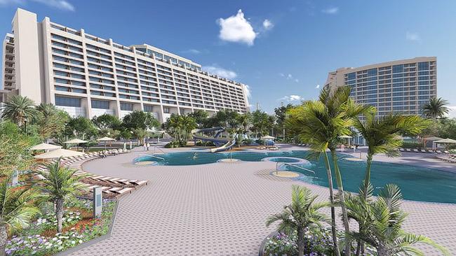 Contemporary Resort 3-D Floyover